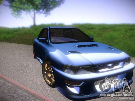 Subaru Impreza 22b Tunable for GTA San Andreas left view