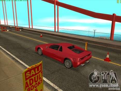 Takomskij Bridge (Tacoma Narrows Bridge) for GTA San Andreas fifth screenshot