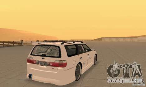 Nissan Stagea GTR for GTA San Andreas left view
