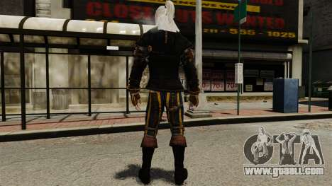 Geralt of Rivia v1 for GTA 4