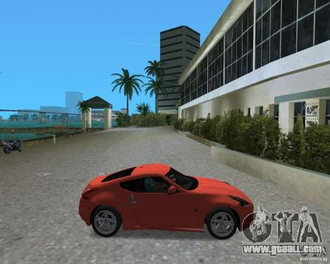 Nissan 370Z for GTA Vice City right view