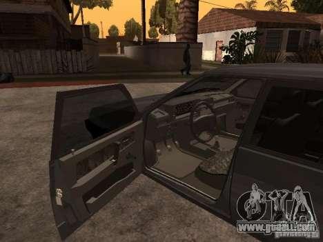VAZ 21093 for GTA San Andreas back left view