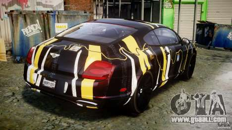 Bentley Continental SS 2010 Gumball 3000 [EPM] for GTA 4 inner view