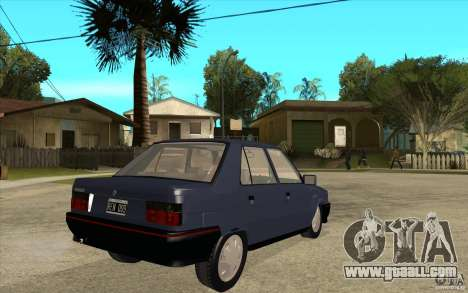 Renault 9 Mod 92 TXE for GTA San Andreas right view