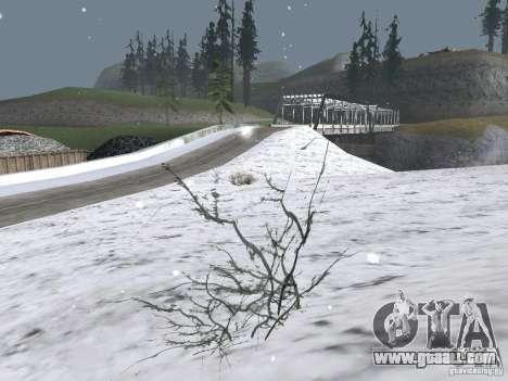 Snow for GTA San Andreas second screenshot