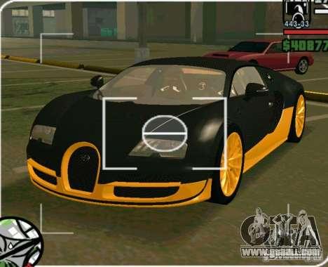 Bugatti Veyron Super Sport final for GTA San Andreas