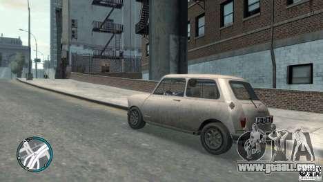 Mini Cooper S for GTA 4 back left view