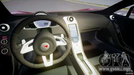 McLaren MP4-12C [EPM] for GTA 4 back view