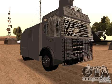A police water cannon Rosenbauer v2 for GTA San Andreas
