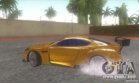 Aston Martin DB9 MW for GTA San Andreas right view