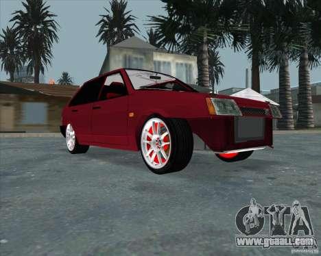 VAZ 2109 Drift for GTA San Andreas
