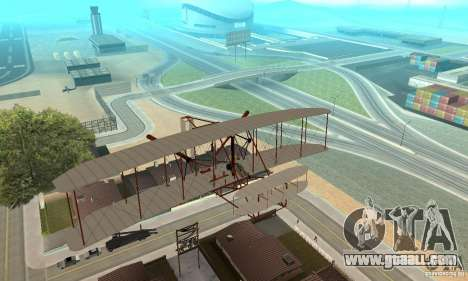 The Wright Flyer for GTA San Andreas inner view