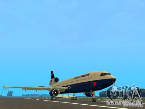 McDonell Douglas DC10 British Airways for GTA San Andreas left view