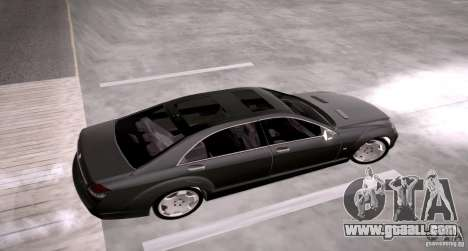 Mercedes-Benz S600 v12 for GTA San Andreas right view