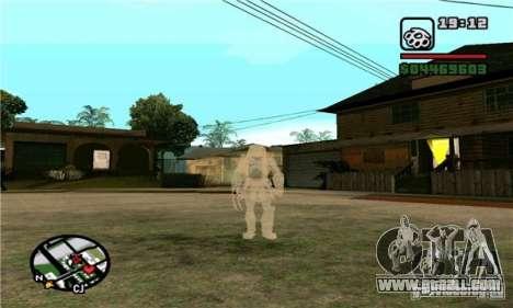 Effects of Predator v 1.0 for GTA San Andreas third screenshot