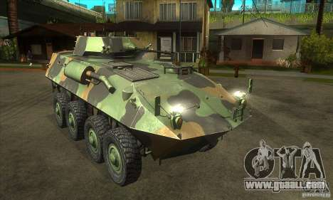 LAV-25 for GTA San Andreas back view