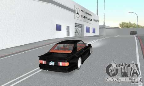 Mercedes-Benz C126 500SEC KS for GTA San Andreas left view