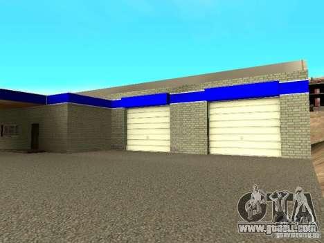 Garage in San Fierro for GTA San Andreas forth screenshot