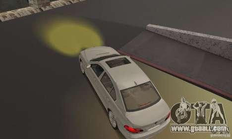 Yellow headlights for GTA San Andreas