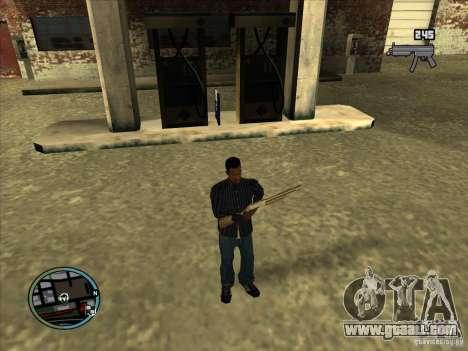 SA IV WEAPON SCROLL 2.0 for GTA San Andreas