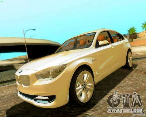 BMW 550i GranTurismo 2009 V1.0 for GTA San Andreas