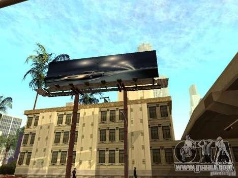 New textures downtown Los Santos for GTA San Andreas sixth screenshot