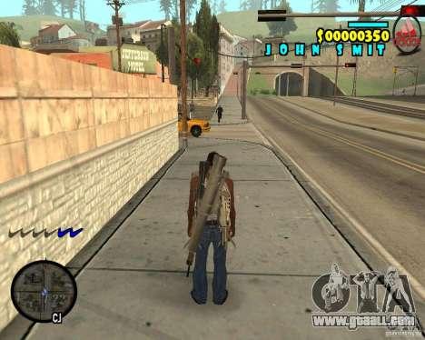 HUD Adidas for GTA San Andreas second screenshot