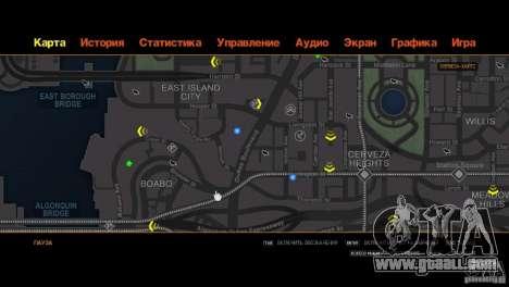CG4 Radar Map for GTA 4 ninth screenshot