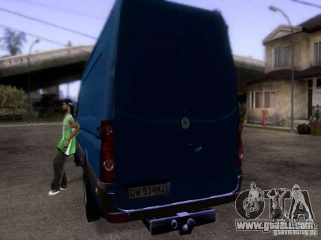 Volkswagen Crafter XL for GTA San Andreas right view