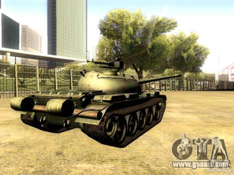 Type 59 V2 for GTA San Andreas back left view