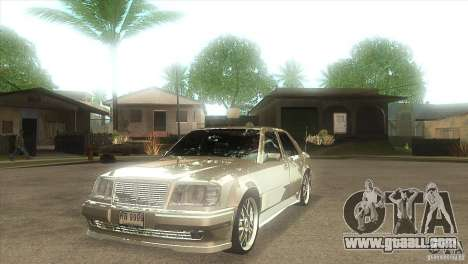 Mercedes-Benz E500 VIP Class for GTA San Andreas