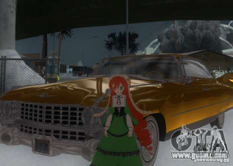 Anime Characters for GTA San Andreas