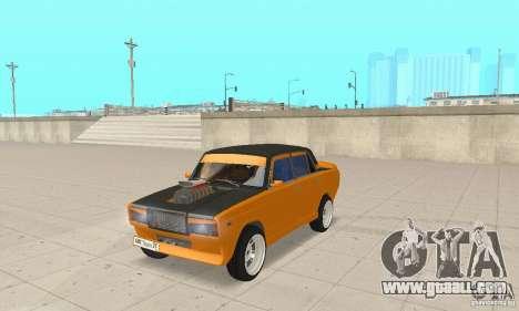 VAZ 2107 Off Road for GTA San Andreas
