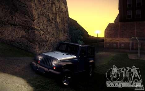 Jeep Wrangler Rubicon 2012 for GTA San Andreas