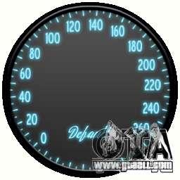Speedometer IV (Skin 3) for GTA 4
