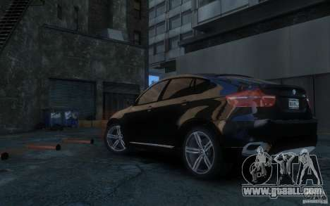 BMW X6 for GTA 4 left view