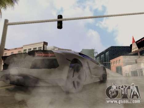 Lamborghini Aventador LP700-4 Vossen for GTA San Andreas side view