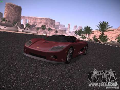 Koenigsegg CCX 2006 for GTA San Andreas left view
