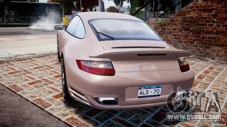 Porsche 911 (997) Turbo v1.0 for GTA 4 back left view