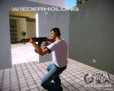 AK-47 for GTA Vice City third screenshot
