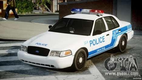 Ford Crown Victoria CVPI-V4.4M [ELS] for GTA 4