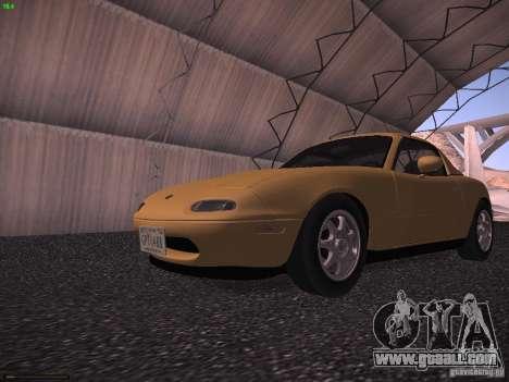 Mazda MX-5 1997 for GTA San Andreas left view