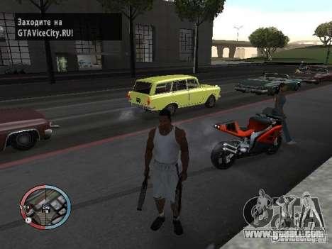 SUPER BIKE MOD for GTA San Andreas