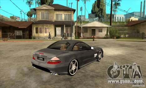 Mercedes-Benz SL65 AMG 2010 for GTA San Andreas right view