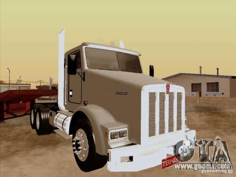 Kenworth T800 Econom for GTA San Andreas left view