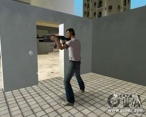 AK-47 with a grenade launcher М203 for GTA Vice City third screenshot