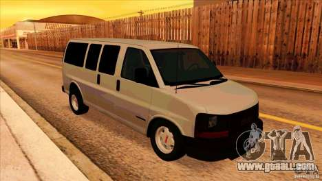 GMC Savanna 2500 for GTA San Andreas