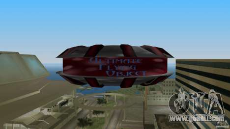 Ultimate Flying Object for GTA Vice City right view