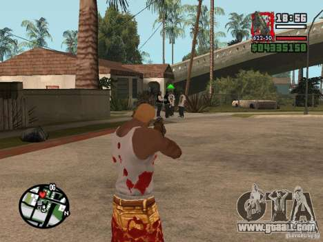 BulletStorm M4 for GTA San Andreas third screenshot
