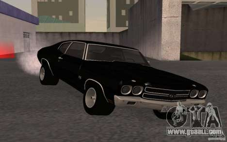 Chevrolet Chevelle SS for GTA San Andreas back view